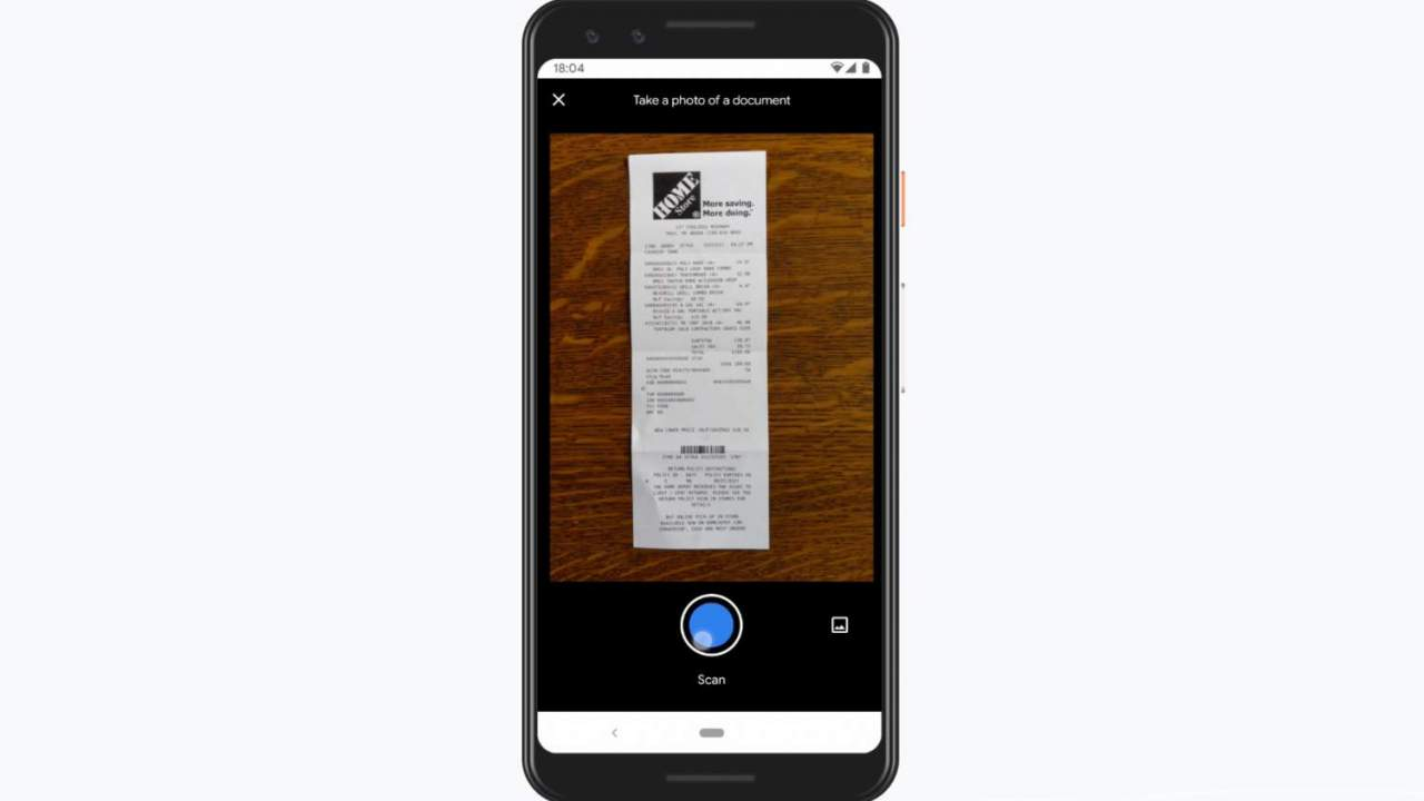 Google Stack scanner app promises no bill or rebate left behind