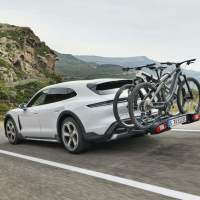 Porsche made two new e-bikes to pair with the Taycan Cross Turismo EV