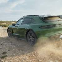 2022 Porsche Taycan Cross Turismo combines electric speed with wagon style