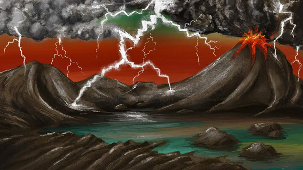 Researchers believe lightning could have literally sparked life on Earth