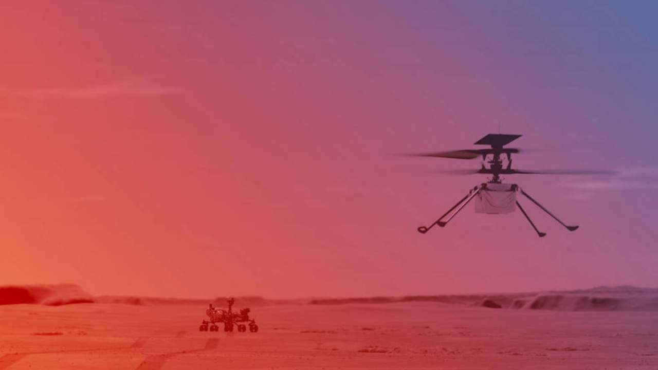 NASA just revealed its Ingenuity Mars Helicopter flight plans