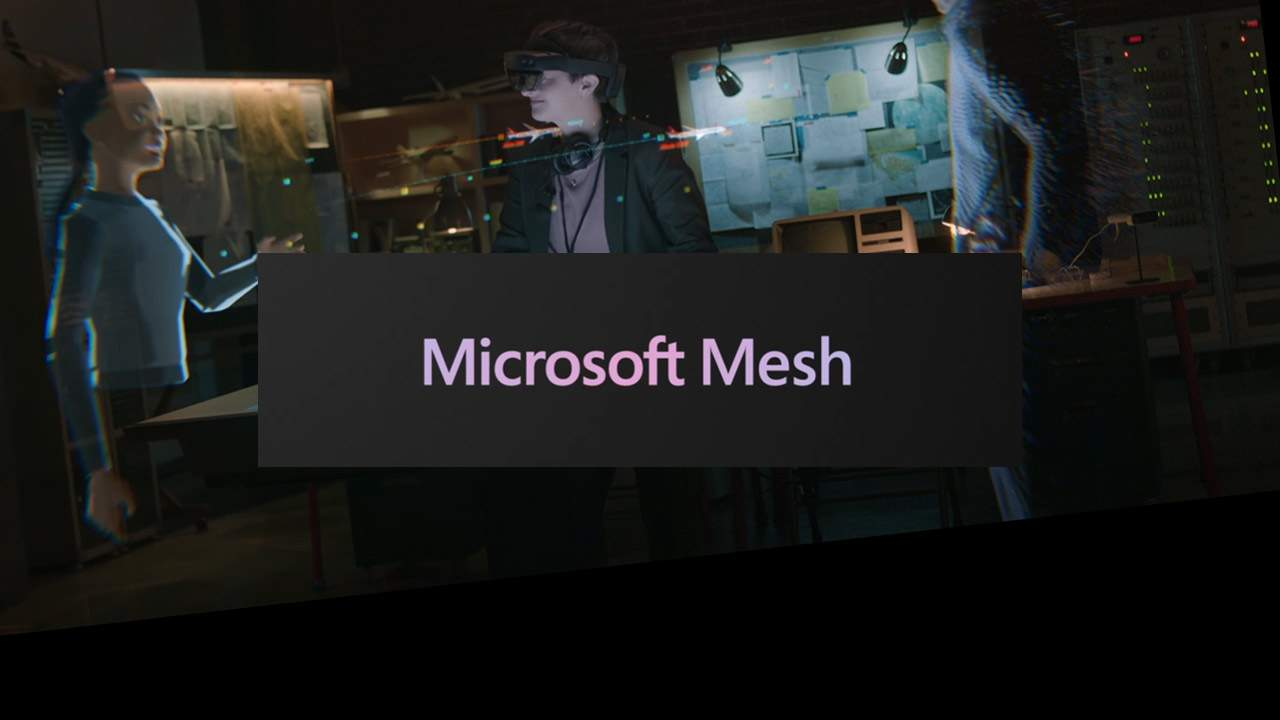 Microsoft Mesh makes future meetings shared, augmented, virtual experiences