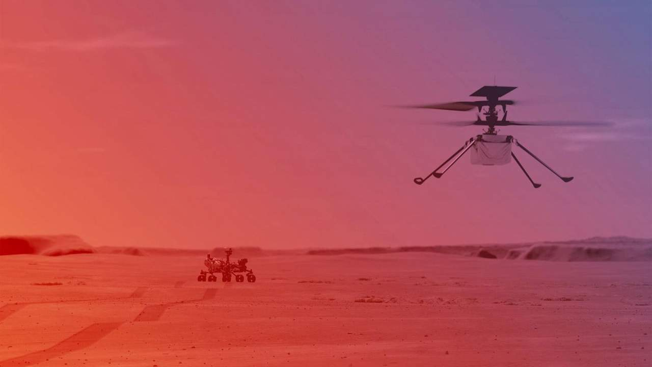 NASA is gearing up for Ingenuity helicopter to attempt its first flight