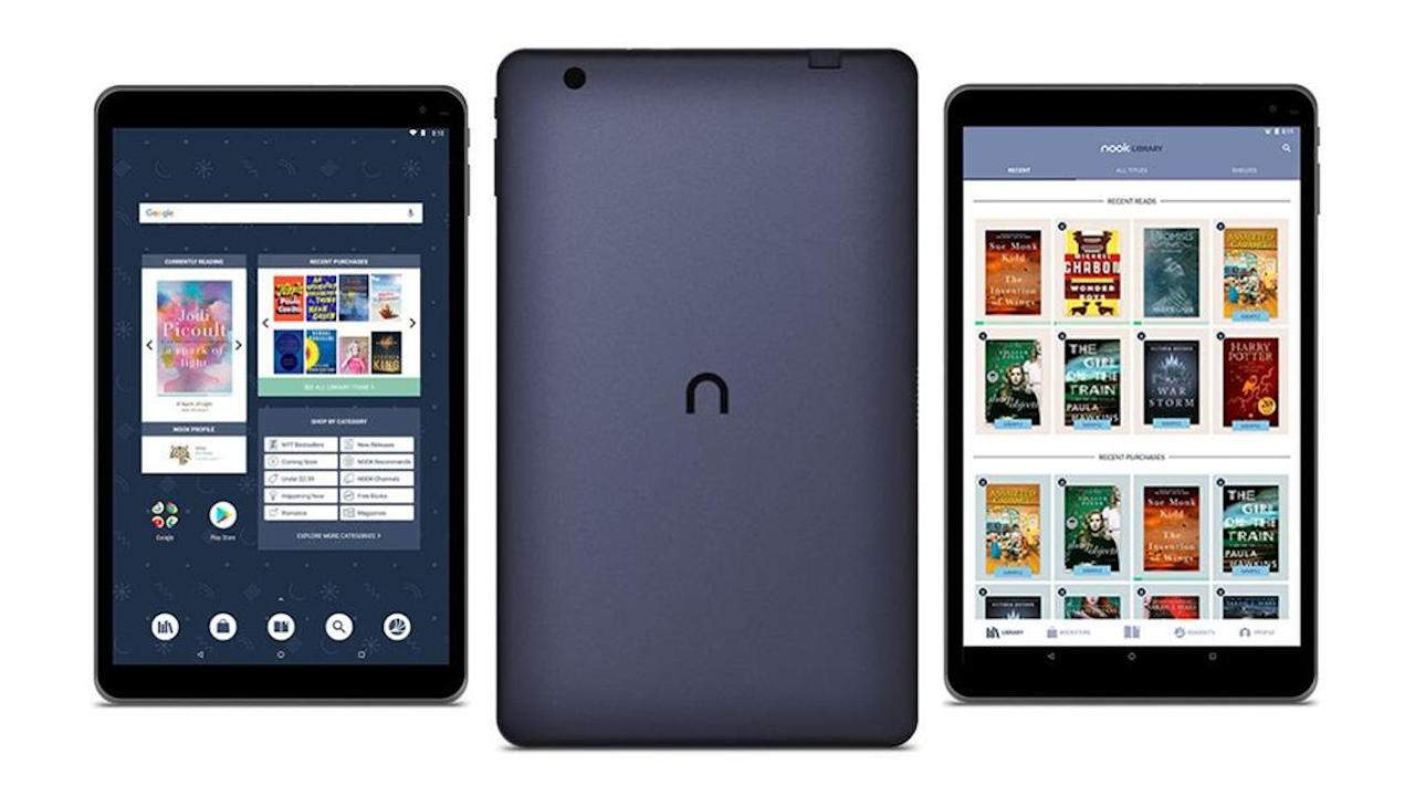 Barnes & Noble NOOK tablet designed by Lenovo coming next week