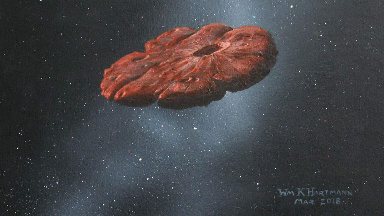 Mysterious interstellar object 'Oumuamua was likely part of a Pluto-like planet