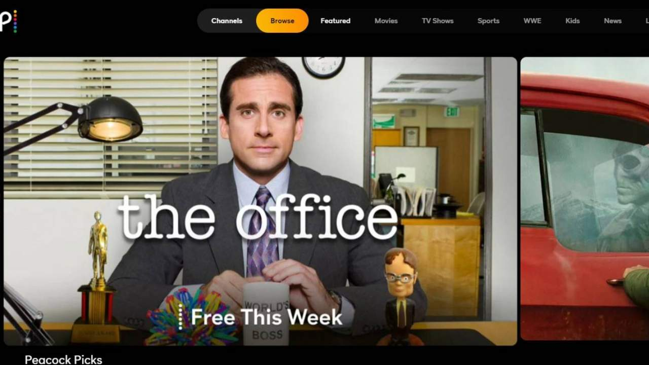 Peacock makes The Office free to stream, but only for a week