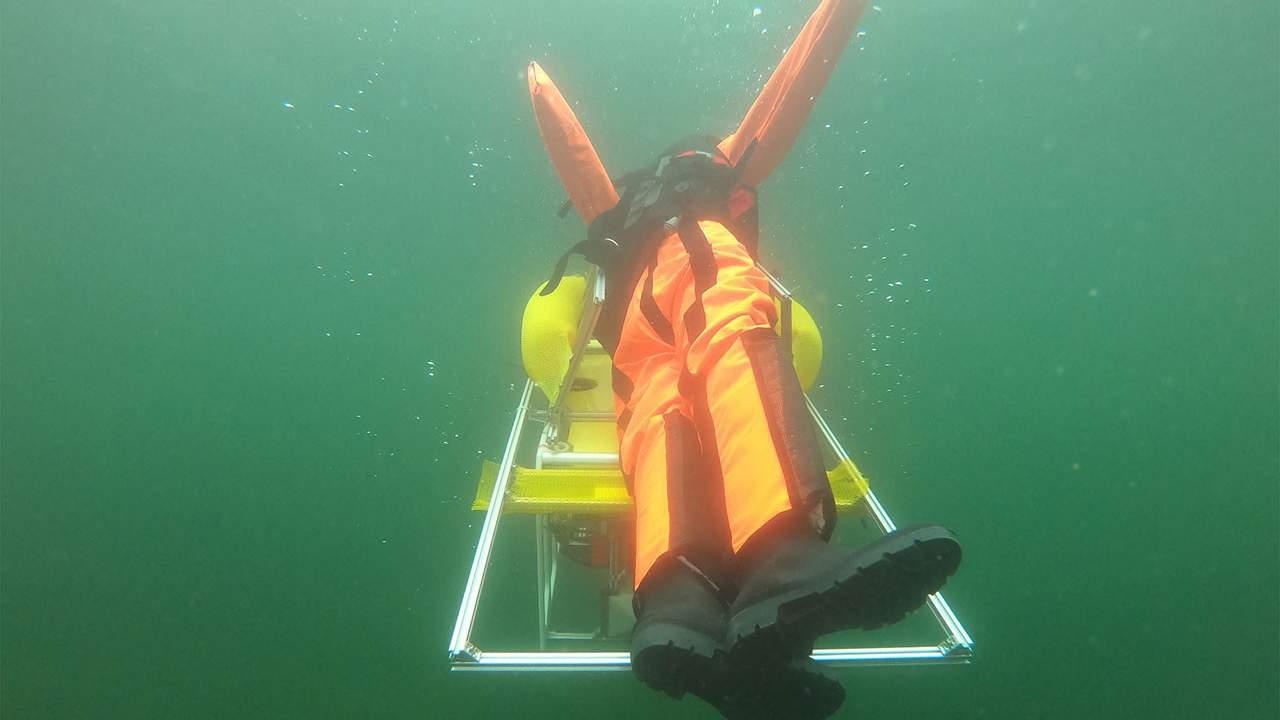 German researchers create an autonomous underwater robot to prevent drownings