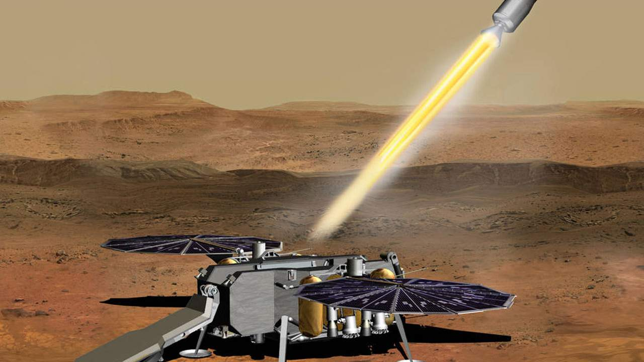 NASA has awarded the contract for returning samples from Mars