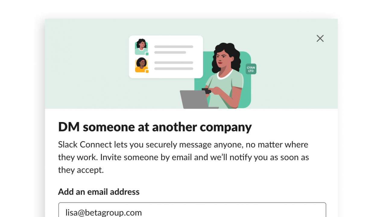 Slack Connect opens DMs to people outside of your company [Update]