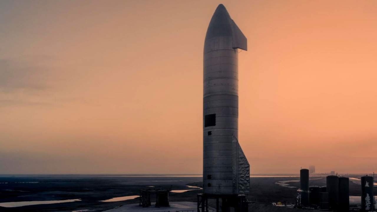 SpaceX investigates Starship blast site using a robot