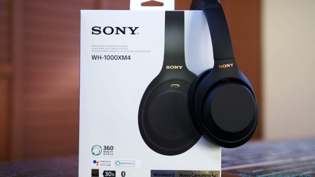 This Sony WH-1000XM4 ANC headphones deal is a WFH treat