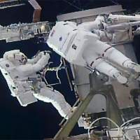 Astronauts complete second spacewalk preparing for ISS solar panel upgrades