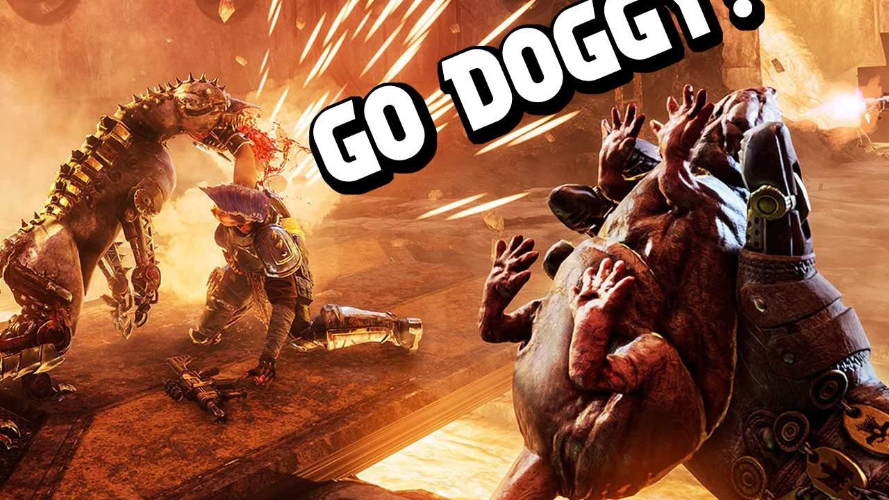 Warhammer 40K game squeezes rat to control robot dog