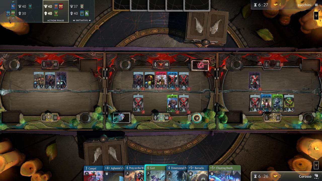 Valve Artifact Dota 2 card game no longer in development