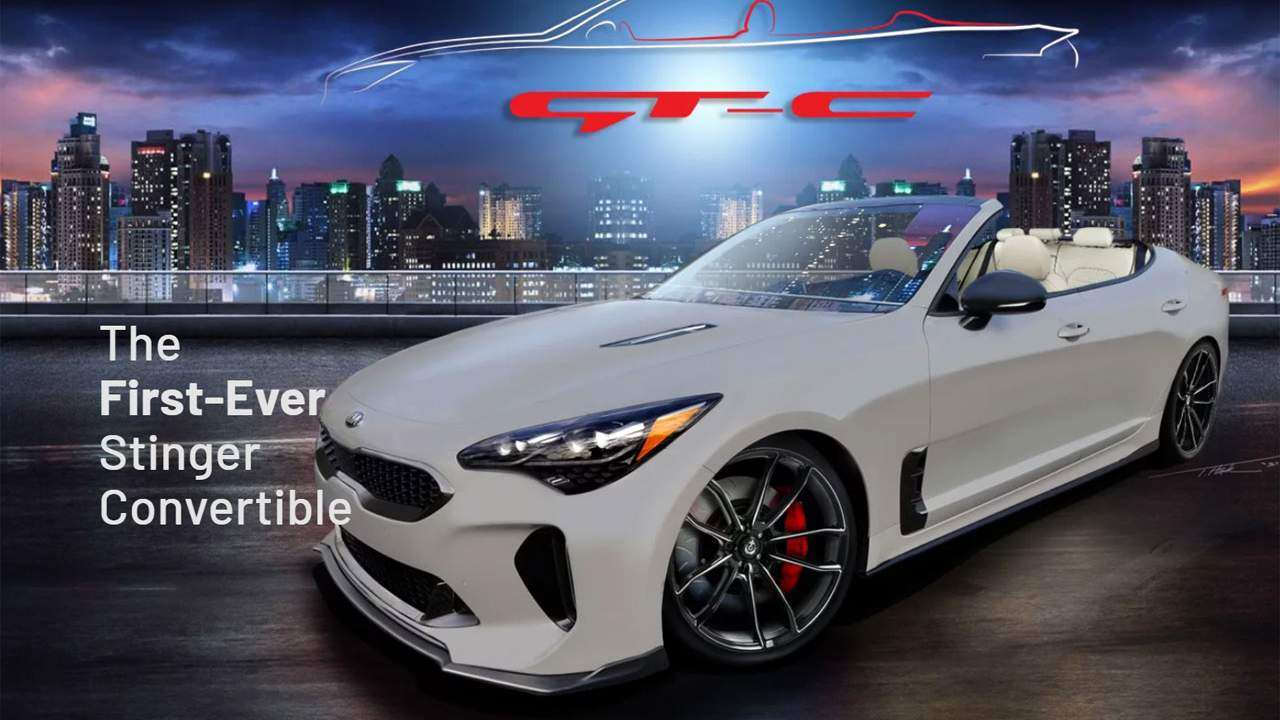 Custom Kia GT-C Convertible is a one-of-a-kind