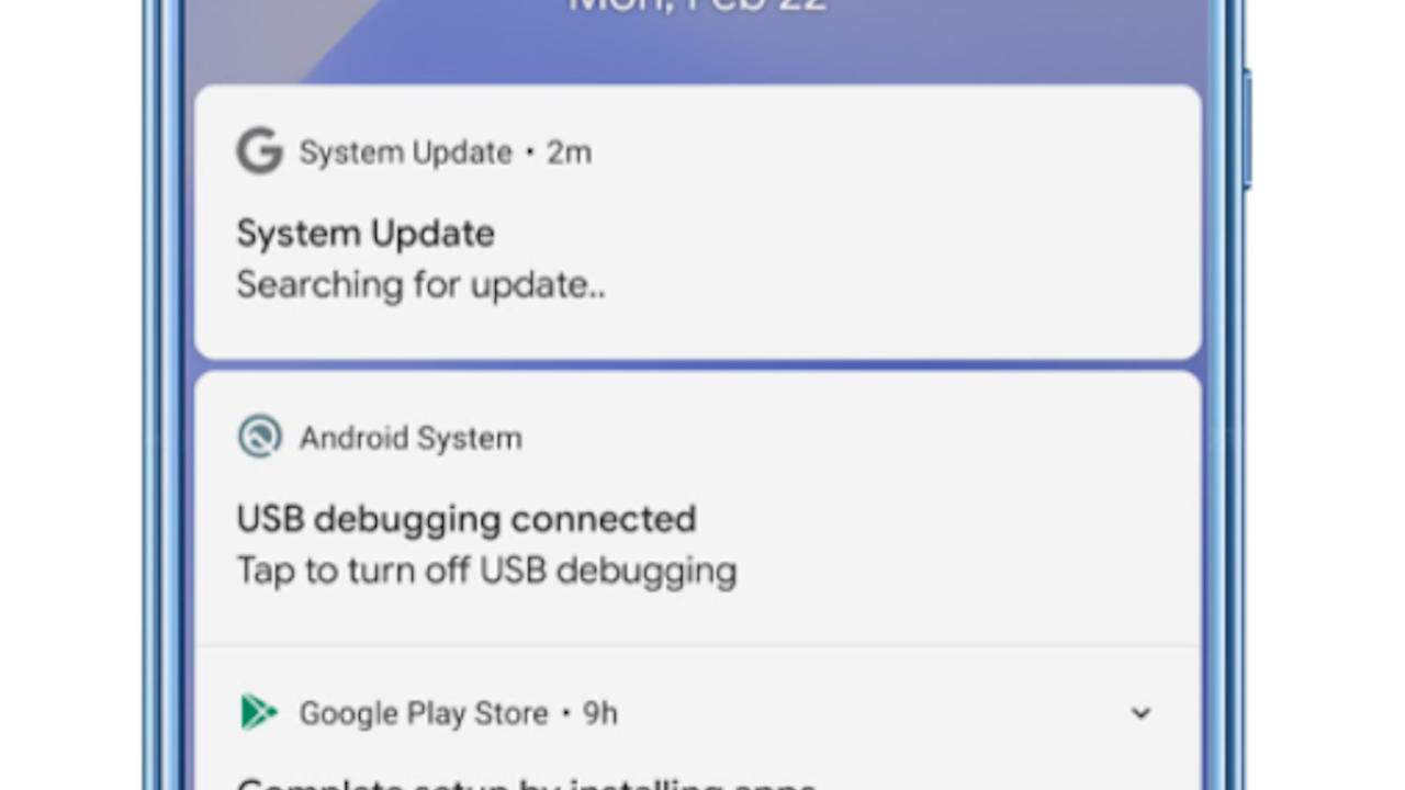 Android spyware masquerades as a System Update