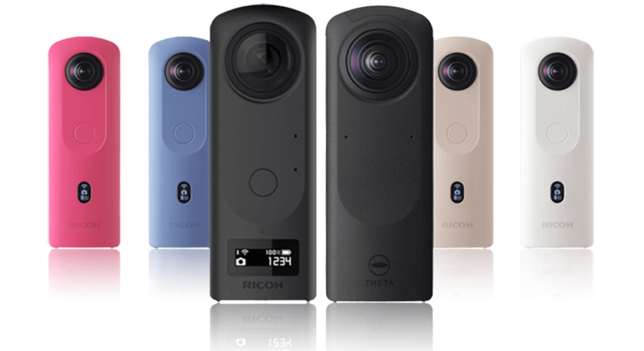 Ricoh Theta Z1 51GB camera snaps 360-degree content in one shot