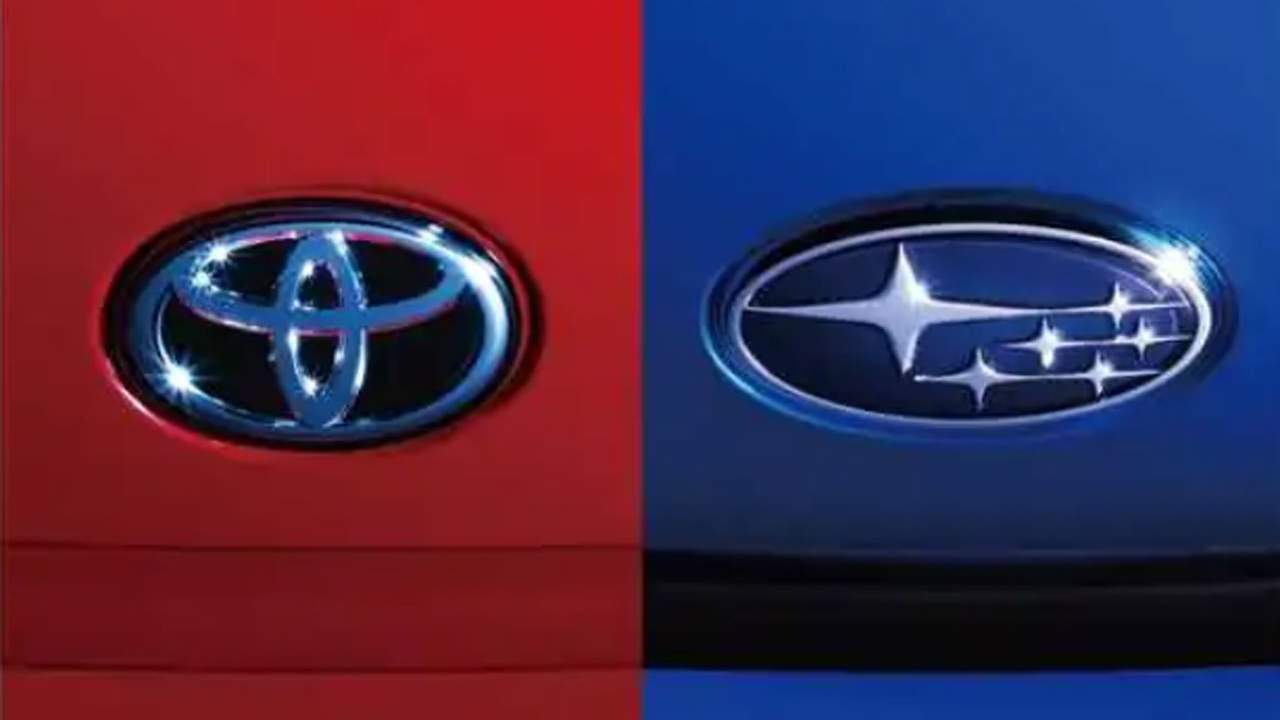 Toyota and Subaru tease a new car collaboration to be announced April 5