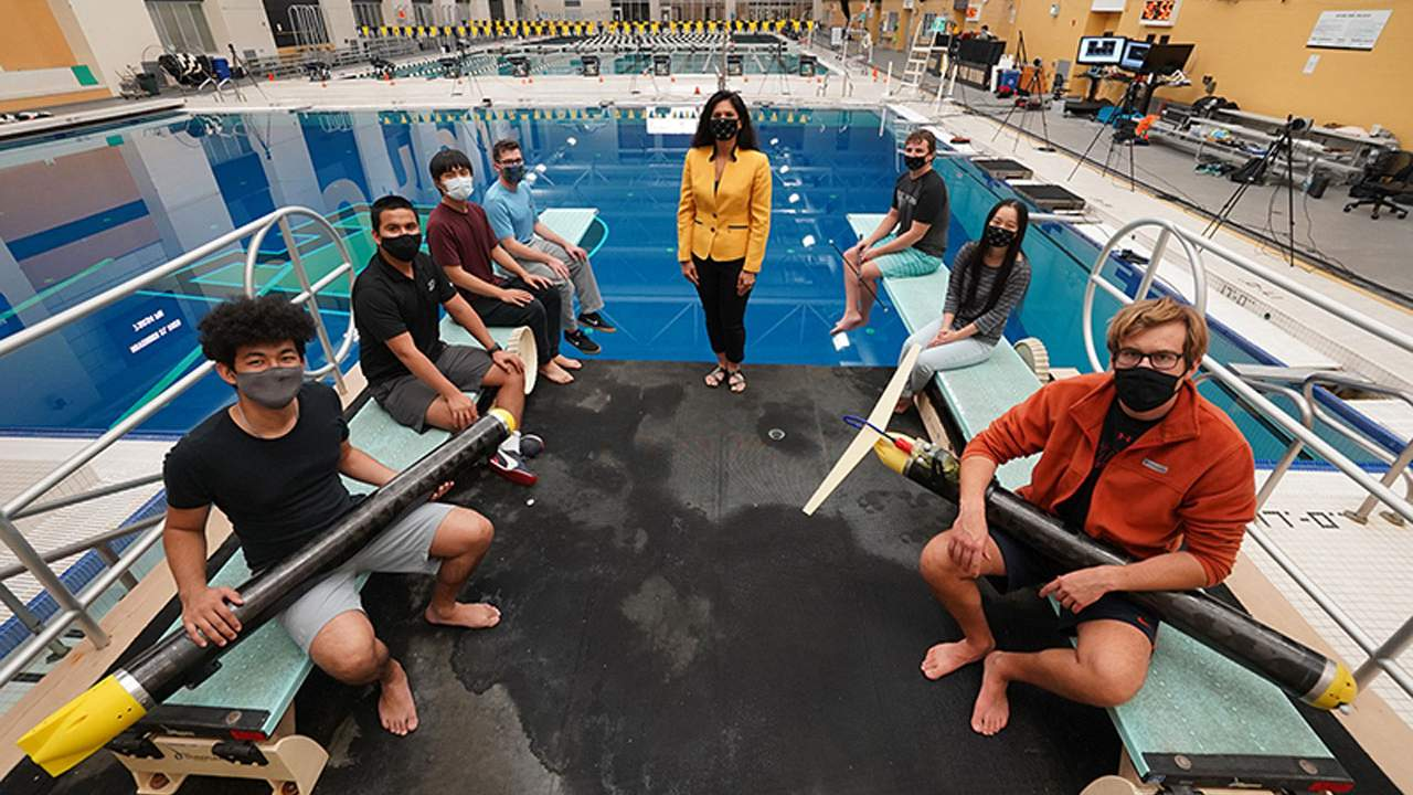 Purdue researchers create a cheap underwater glider