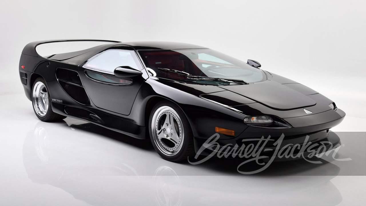 Lamborghini-powered 1999 Vector M-12 heads to auction