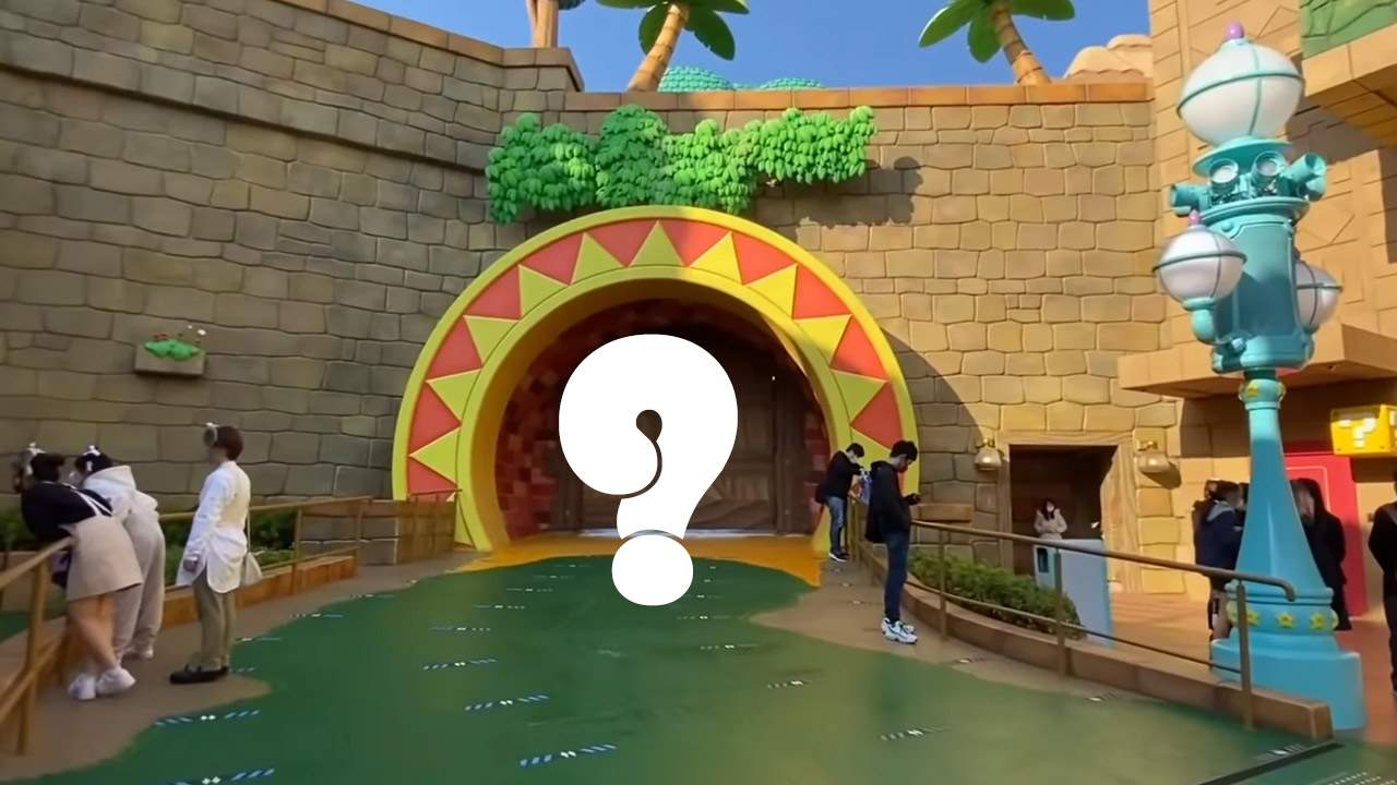 Super Nintendo World's Donkey Kong door may tip a new game in 2021