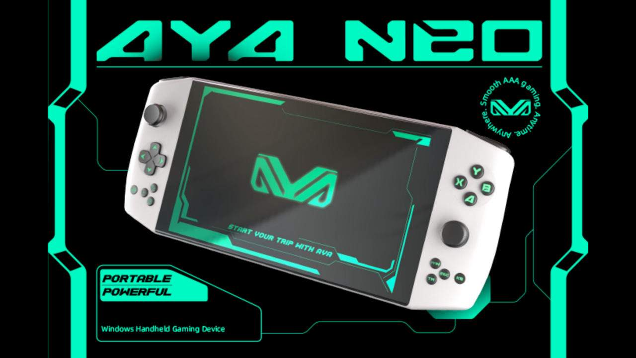 AYA-NEO puts a different spin on the PC gaming handheld
