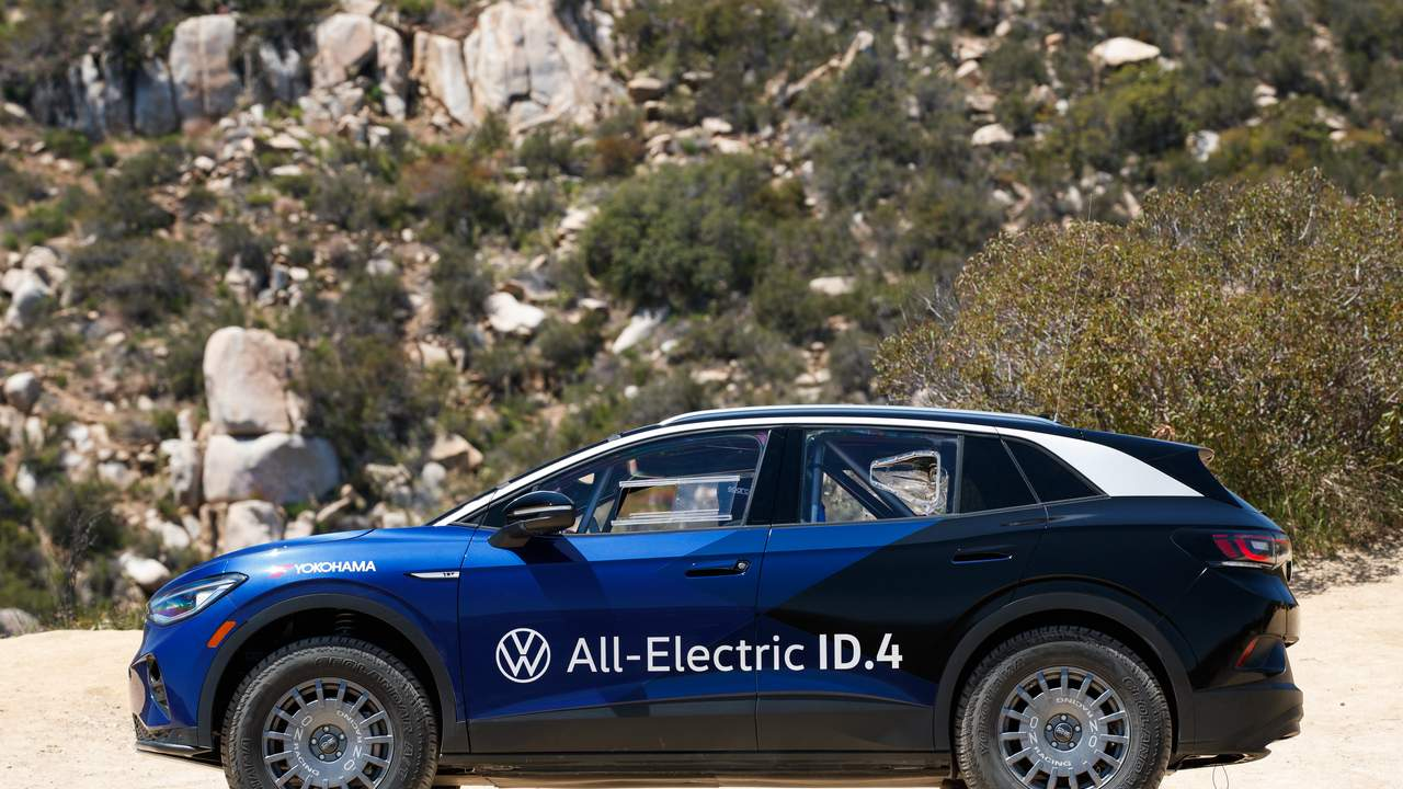 This VW ID.4 by Tanner Foust and Rhys Millen Racing is challenging the Baja peninsula