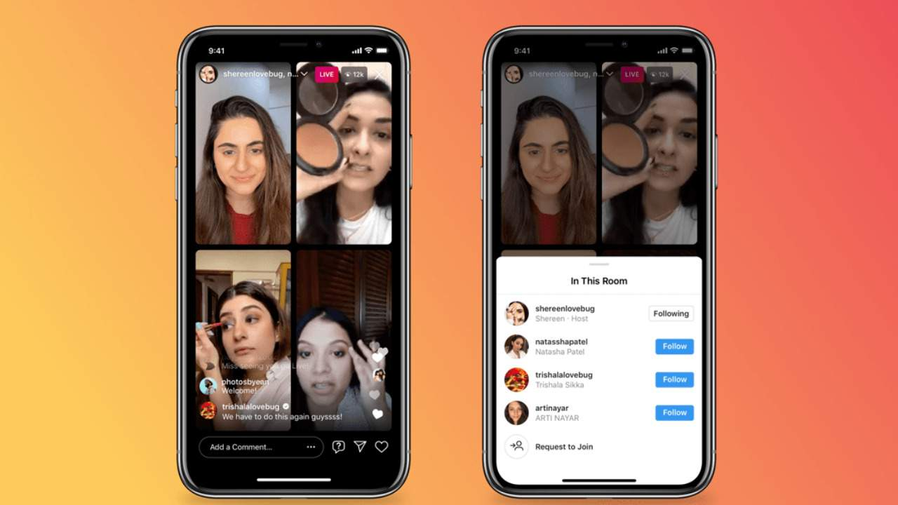 Instagram Live Rooms put a unique spin on Clubhouse rivalry