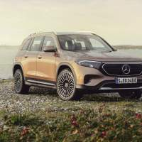 2022 Mercedes-Benz EQB electric SUV gets 3 rows and a US release