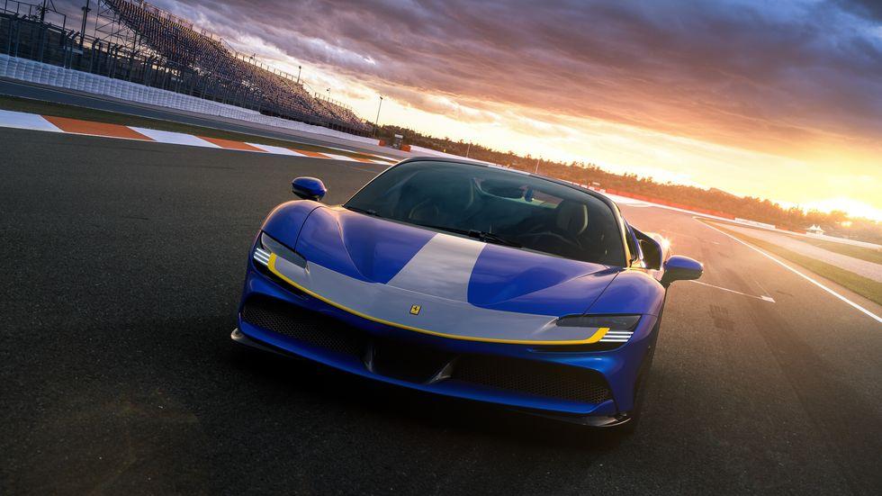 A Ferrari EV is coming in 2025