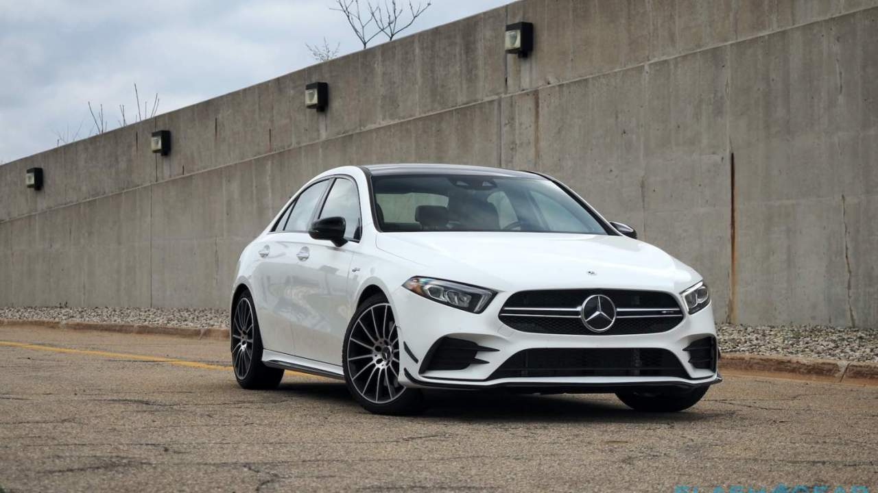 2021 Mercedes-AMG A35 4MATIC Gallery