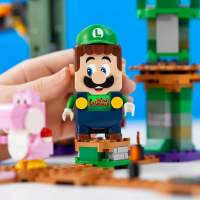 LEGO Luigi is a real thing, and he has his own starter course