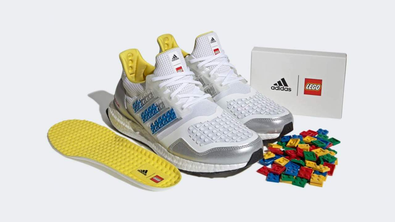 New Adidas Ultraboost DNA shoes add LEGO flair to your run