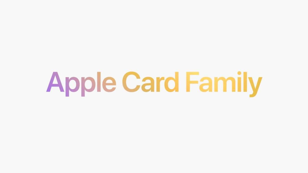 Apple Card Family allows family members to build credit, share credit lines
