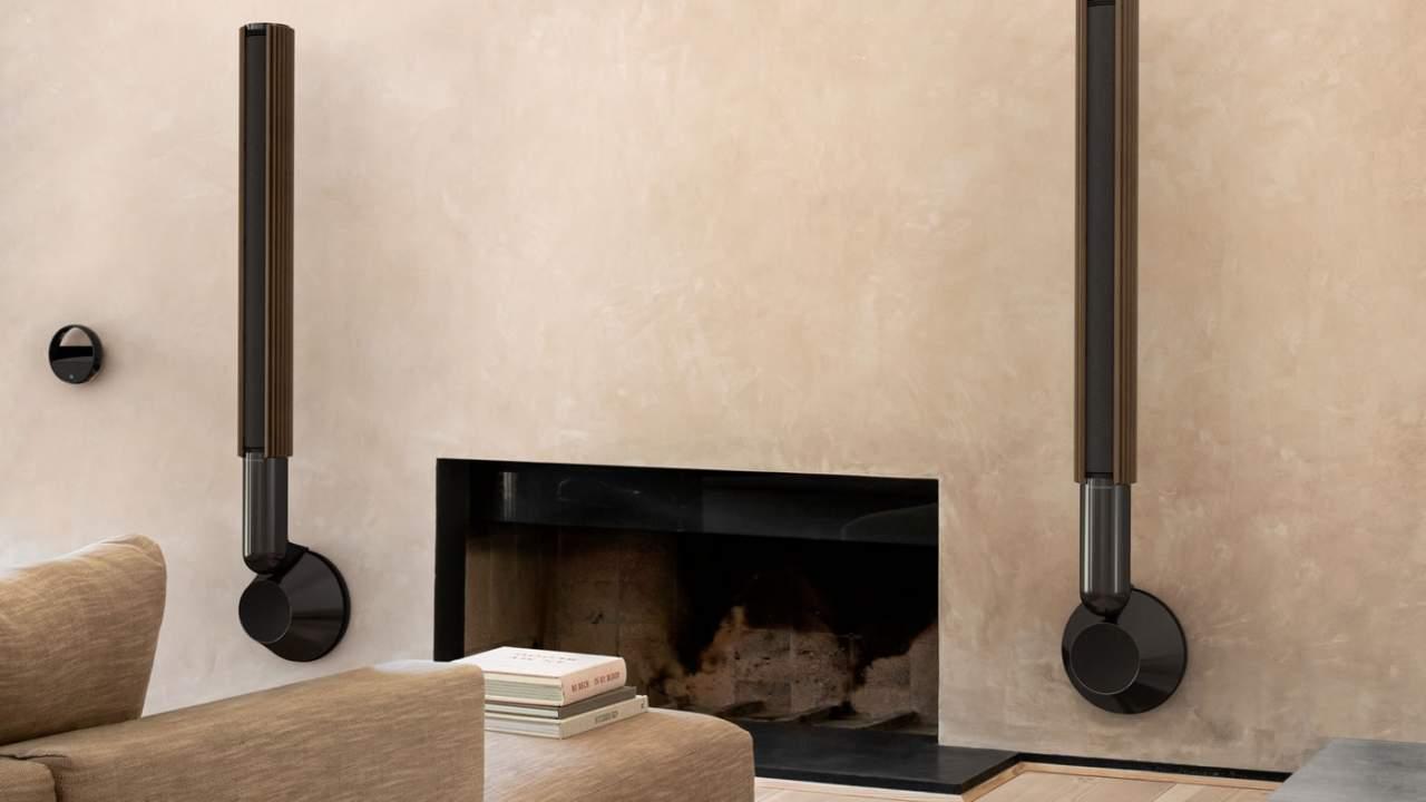 Bang & Olufsen Beolab 28 adaptive wireless speaker looks like artwork