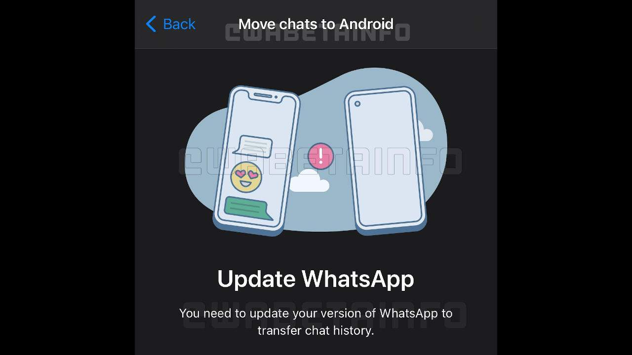 WhatsApp might soon have chat history transfer between iOS, Android