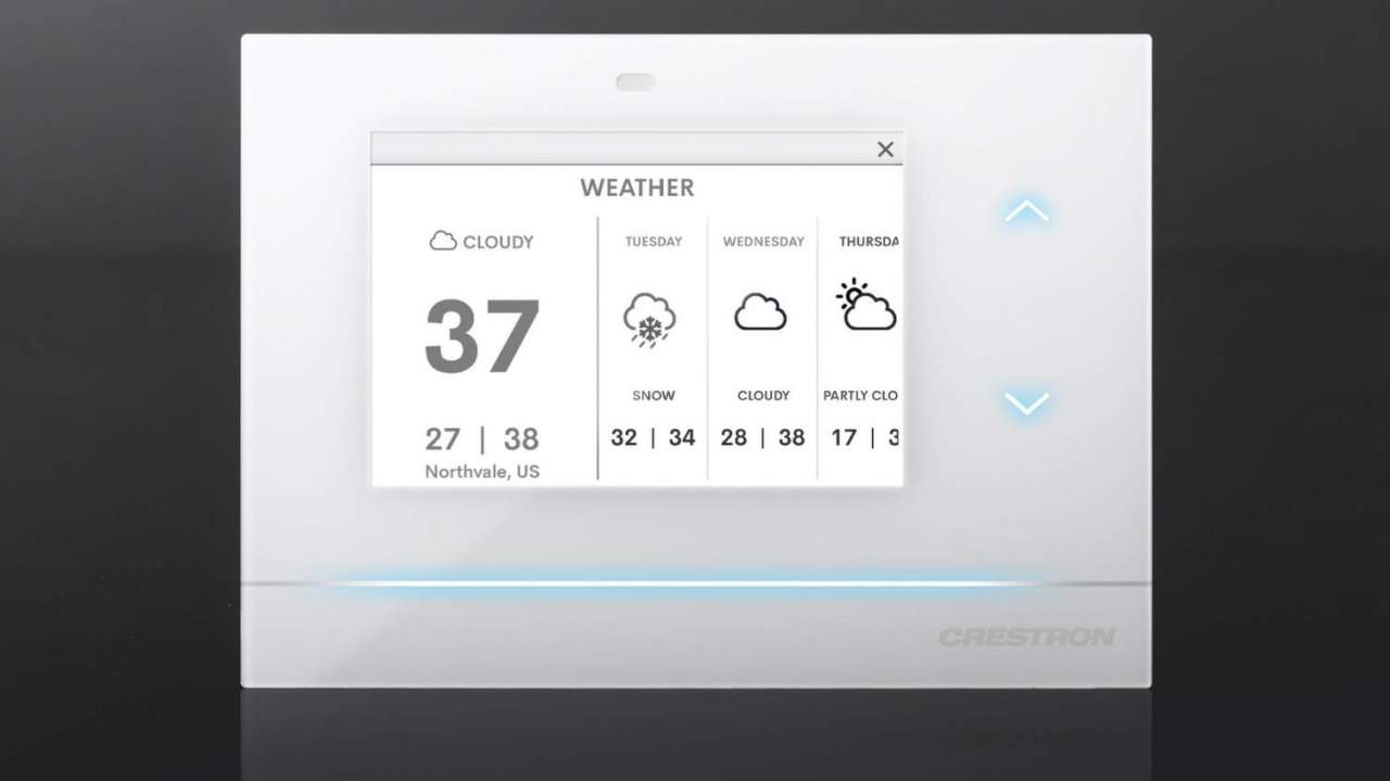 Crestron Horizon Thermostat takes on Nest with smart home integration