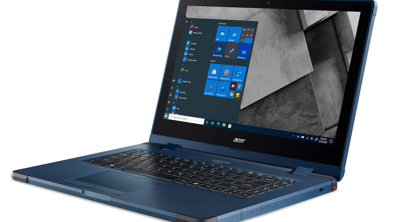 Acer ENDURO Urban N3 notebook and T1 tablet are perfect for the paranoid