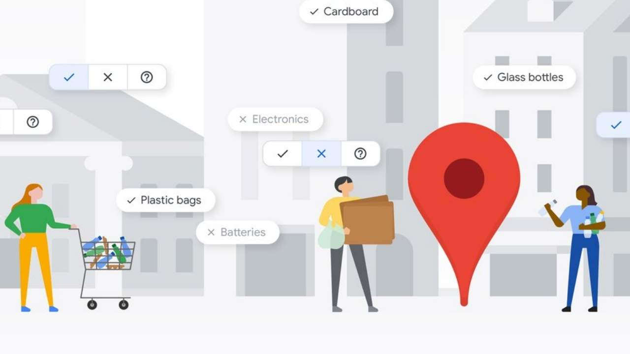 Google Maps can show eco-friendly locations and businesses