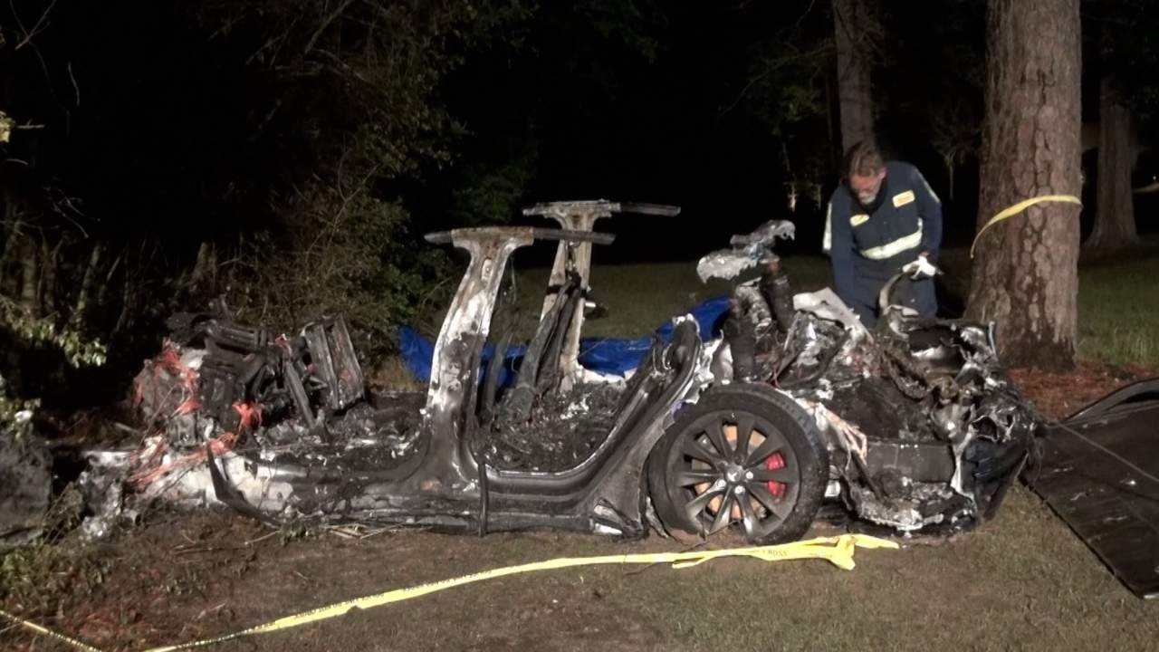 Tesla claims a driver was behind the wheel in latest fatal crash