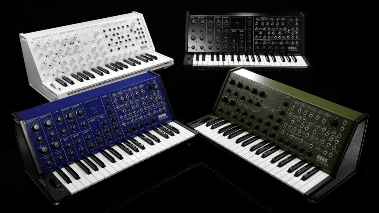Korg MS-20 FS lands as long-awaited full size recreation of a synth icon