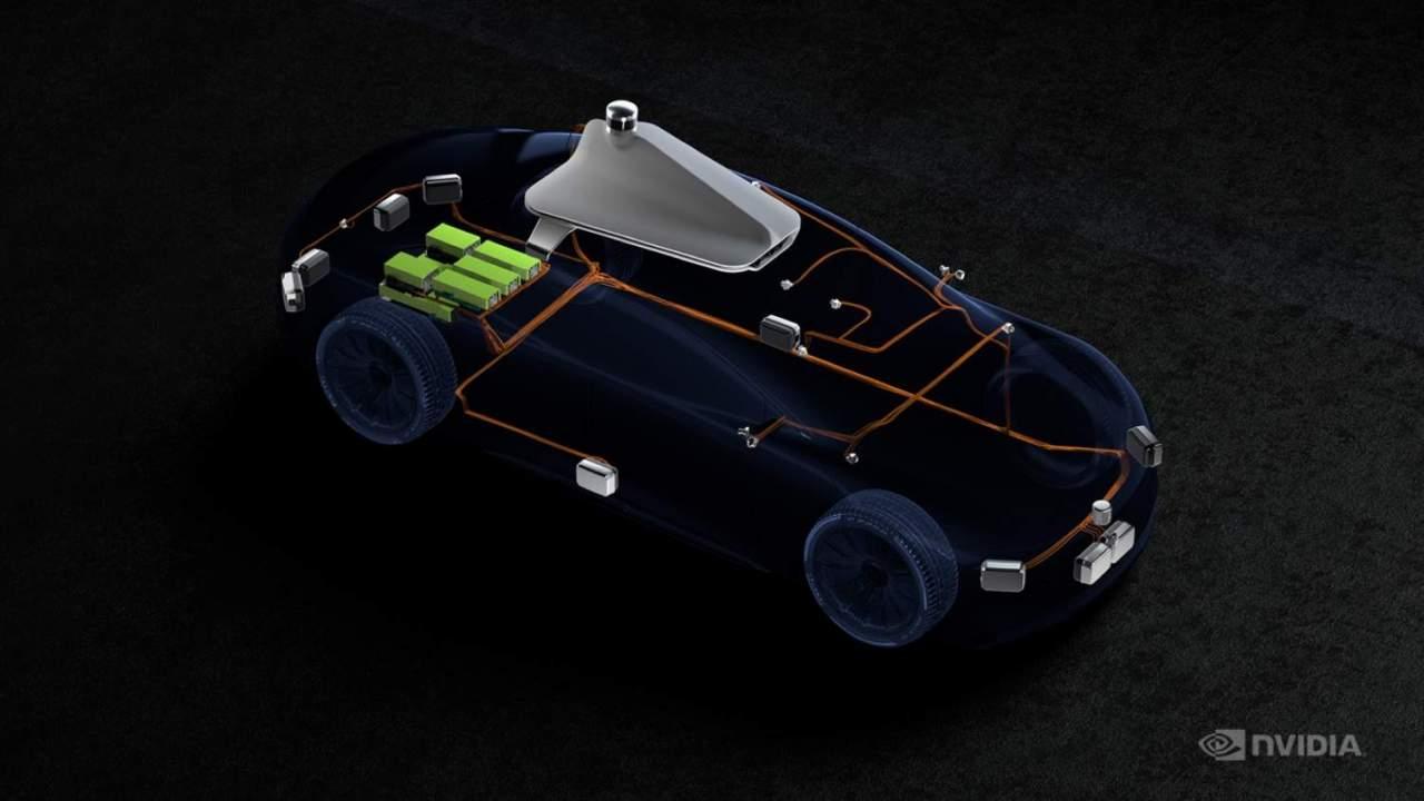 NVIDIA Hyperion 8 is a near-turnkey platform for autonomous cars