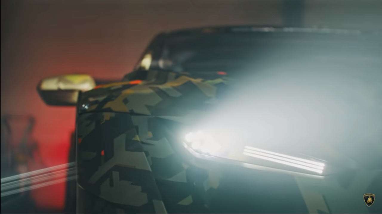 Lamborghini is teasing us with another Squadra Corse track car