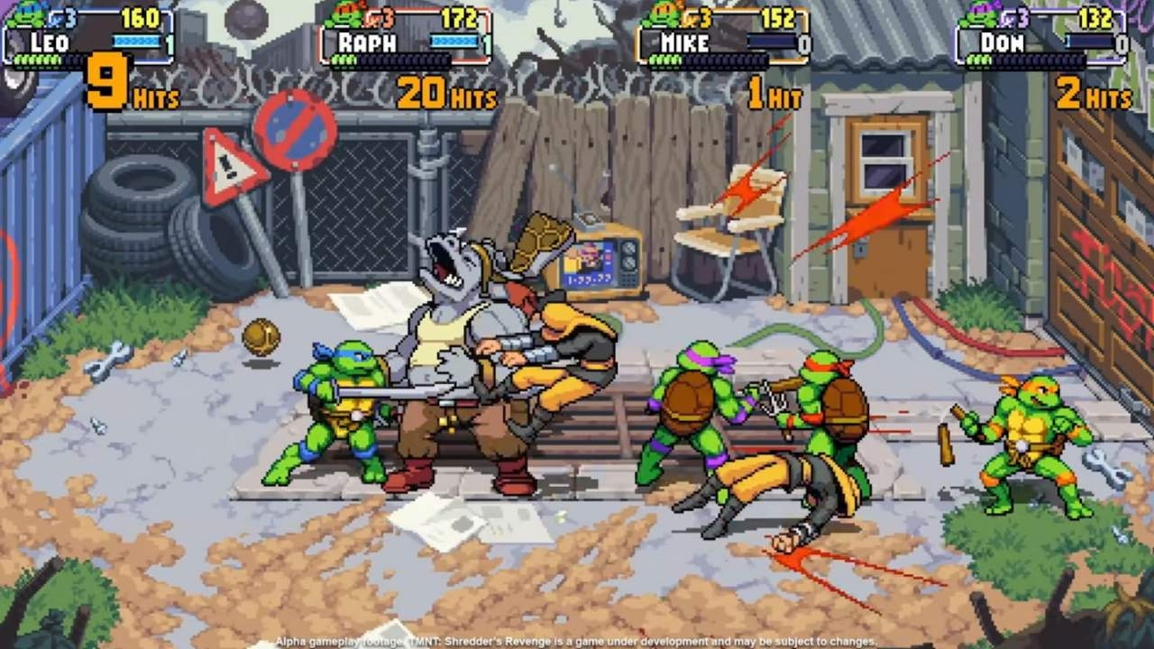 Teenage Mutant Ninja Turtles: Shredder's Revenge confirmed for Switch with flashy new trailer