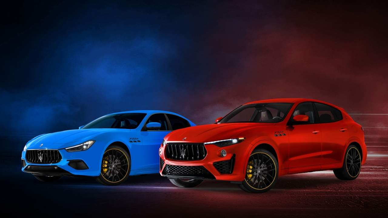 Maserati Ghibli and Levante F Tributo Special Edition pays homage to Juan Manuel Fangio