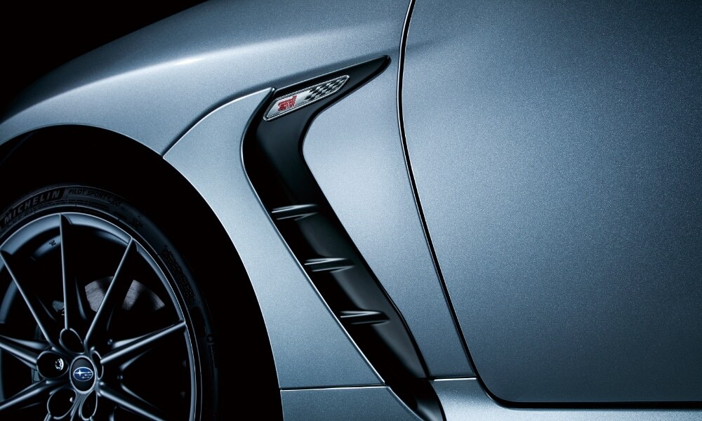 2022 Subaru BRZ STI performance accessories unveiled in Japan
