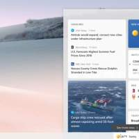 Windows 10's big taskbar update with news and weather is on the way
