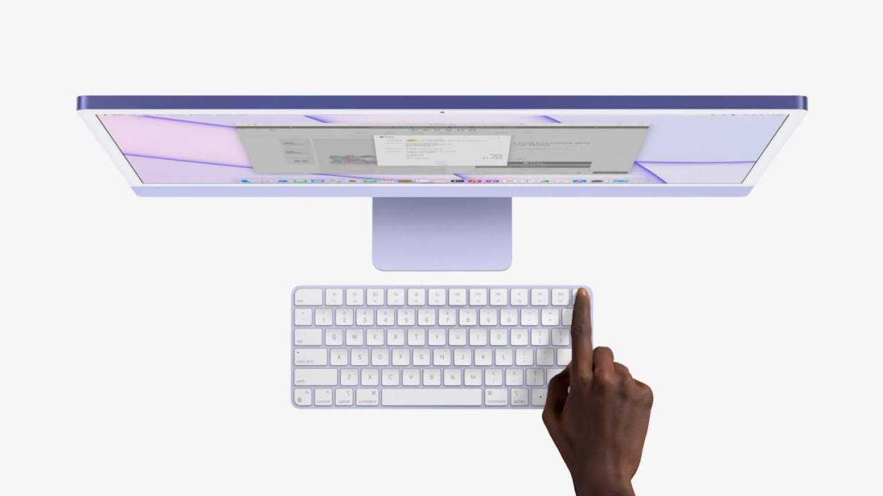 Apple Magic Keyboard 2021 has Touch ID built in