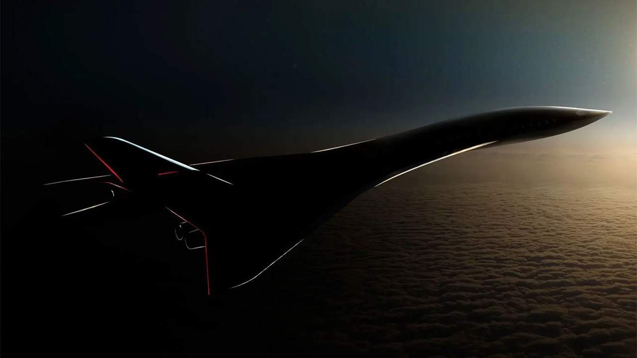 Aerion AS3TM is a supersonic passenger aircraft capable of over Mach 4