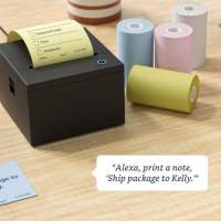 Amazon's weird Alexa sticky note printer will start shipping this summer